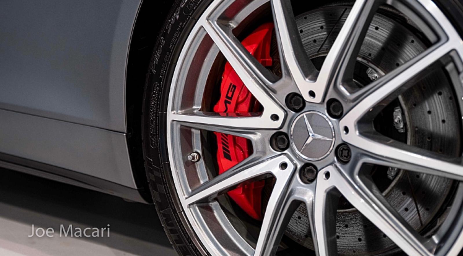 AMG GTS alloy wheel