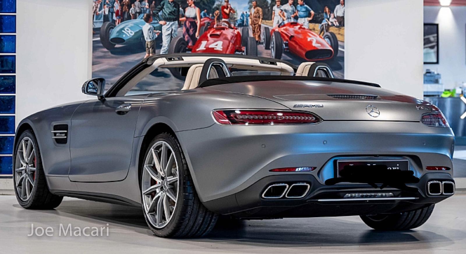 AMG GTS rear