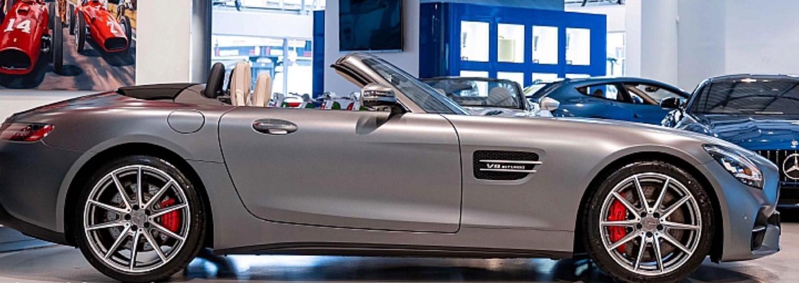 AMG GTS side view